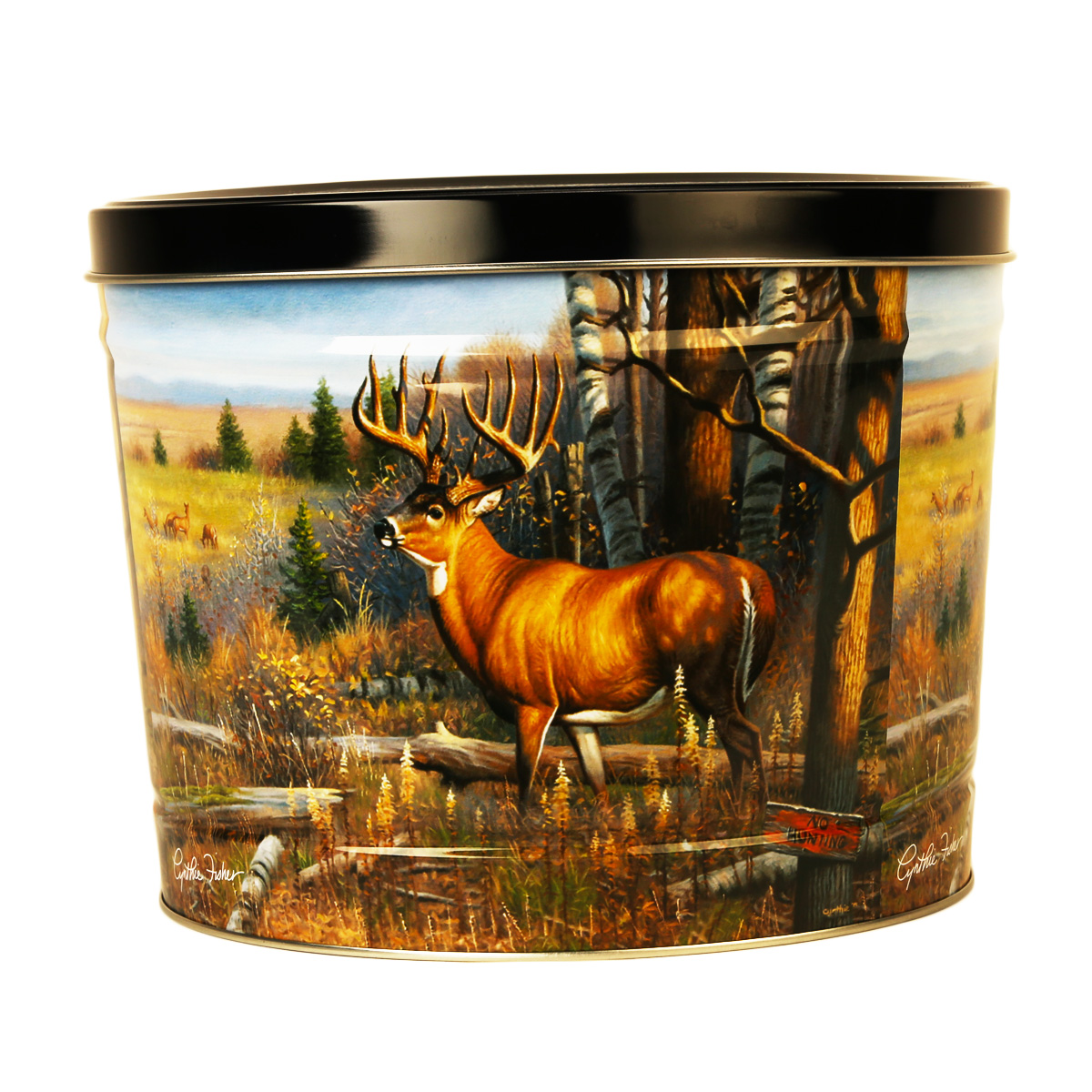 Cautious Approach Decorative Tin